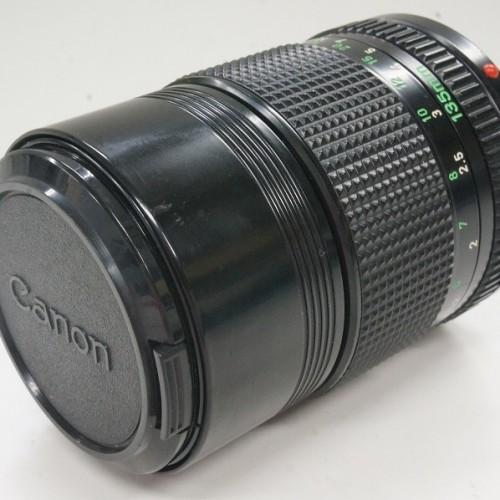 キャノンのレンズ「FD 135mm F2.8」買取実績