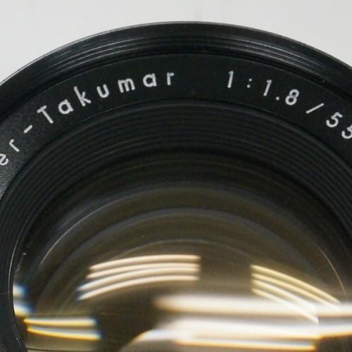 ペンタックスのレンズ「SUPER TAKUMAR 55mm F1.8 」買取実績