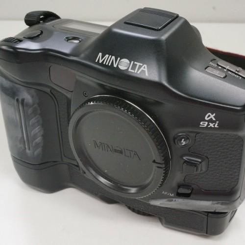 ミノルタのフィルム一眼レフカメラ「α9Xi ボディ」買取実績