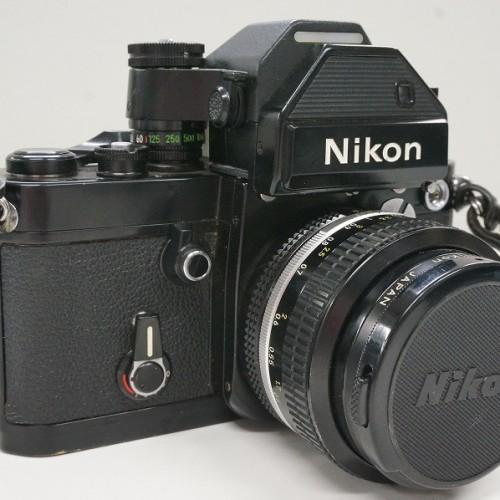 ニコンのフィルム一眼レフカメラ「F2 フォトミックS 50mm F1.4」買取実績