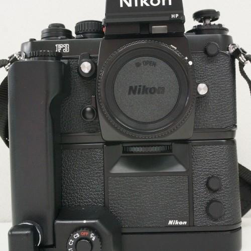 ニコンのフィルム一眼レフカメラ「F3H」買取実績