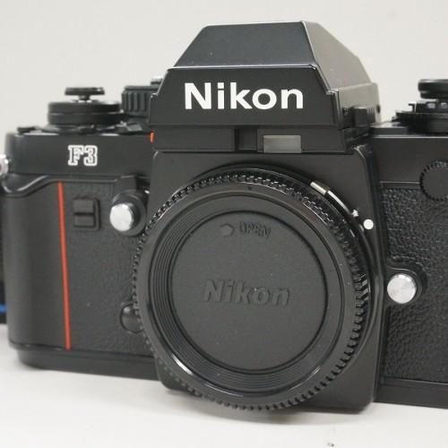 ニコンのフィルム一眼レフカメラ「F3」買取実績