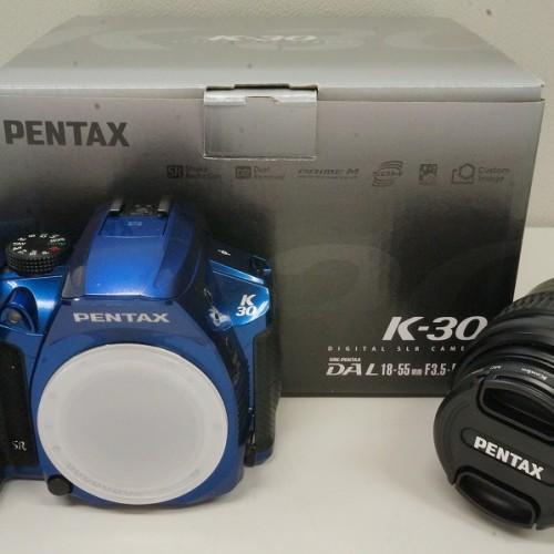 ペンタックスのデジタル一眼レフカメラ「K-30 レンズキット」買取実績