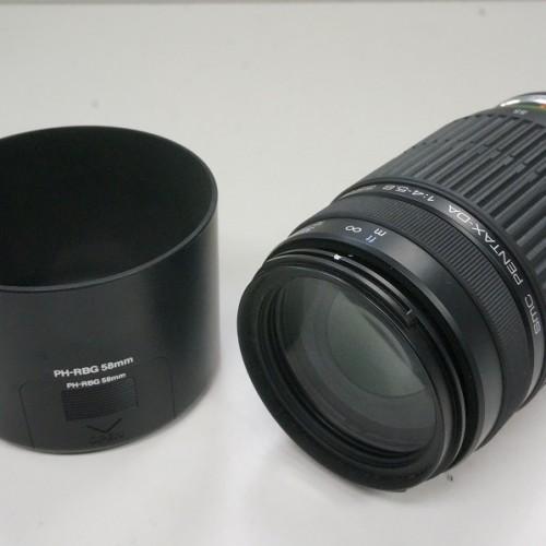 ペンタックスのレンズ「DA 1:4-5.8 55-300mm ED」買取実績