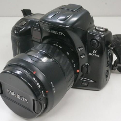ミノルタのフィルム一眼レフカメラ「α807si」買取実績