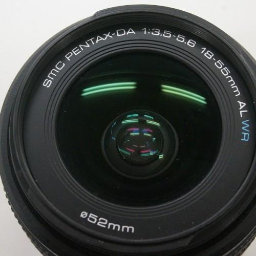 ペンタックスのレンズ「smc PENTAX-DA 18-55mm F3.5-5.6AL WR」買取実績