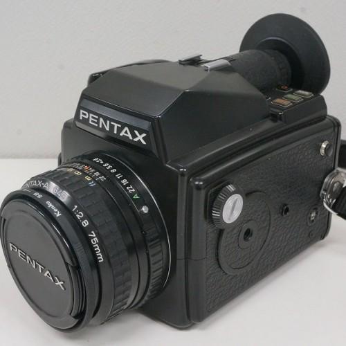 ペンタックスの中判カメラ「645 75mm F2.8」買取実績