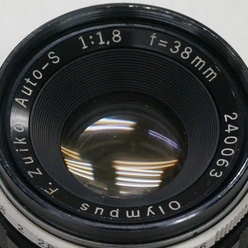 オリンパスのレンズ「F.ZUIKO AUTO-S 38mm F1.8」買取実績