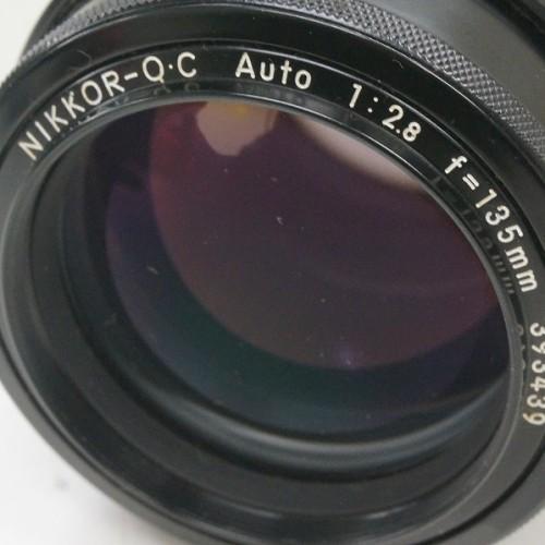 ニコンのレンズ「NIKKOR-O.C Auto 135mm F2.8」買取実績