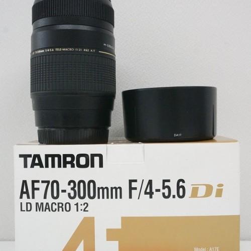 タムロンのレンズ「AF70-300mm F4-5.6 Di LD MACRO キャノン用」買取実績