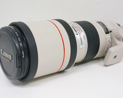 キャノンのレンズ「EF300mm F4L USM」買取実績