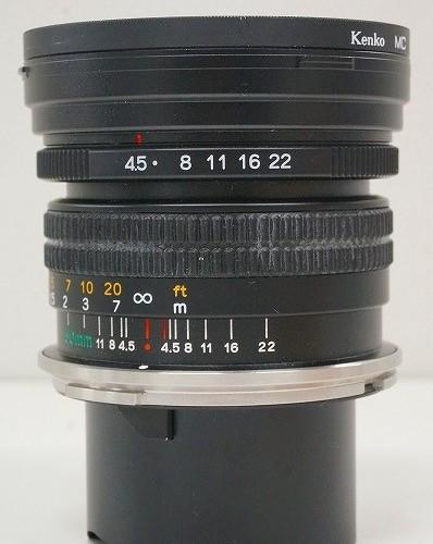 マミヤのレンズ「N 50mm F4.5 L」買取実績