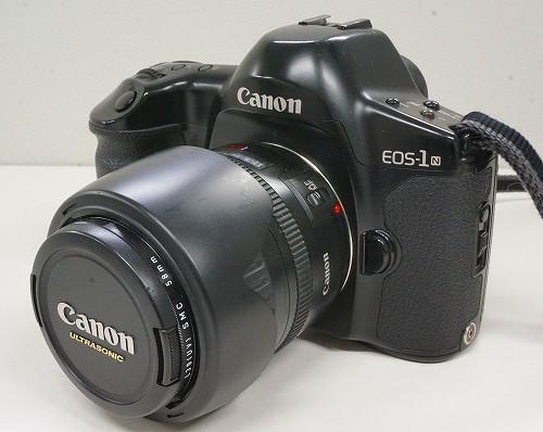 キャノンのフィルム一眼レフカメラ「EOS-1N EF28-105mm F3.5-4.5」買取実績