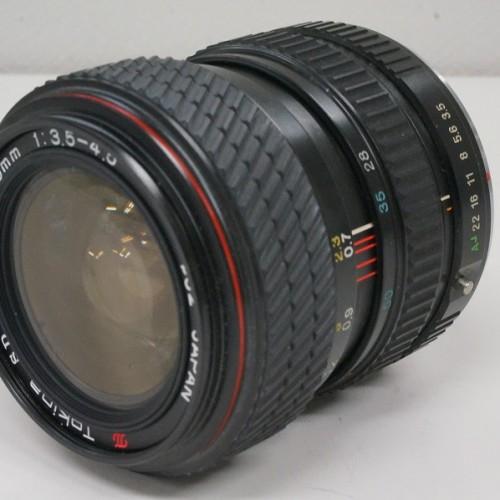トキナーのレンズ「SD 28-70mm F3.5-4.5」買取実績