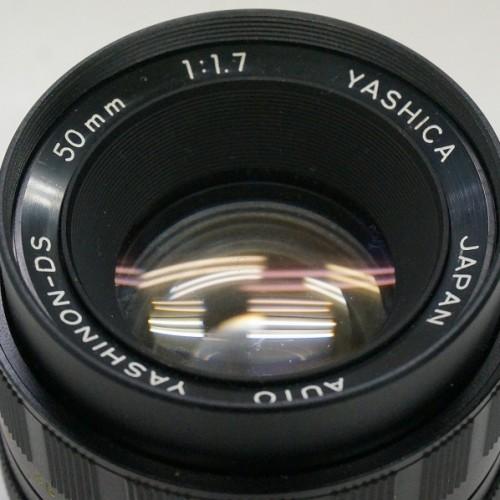 ヤシカのレンズ「AUTO YASHINON-DS 50mm F1.7」買取実績