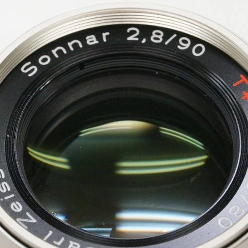 コンタックスのレンズ「Sonnar 90mm F2.8 T* G」買取実績