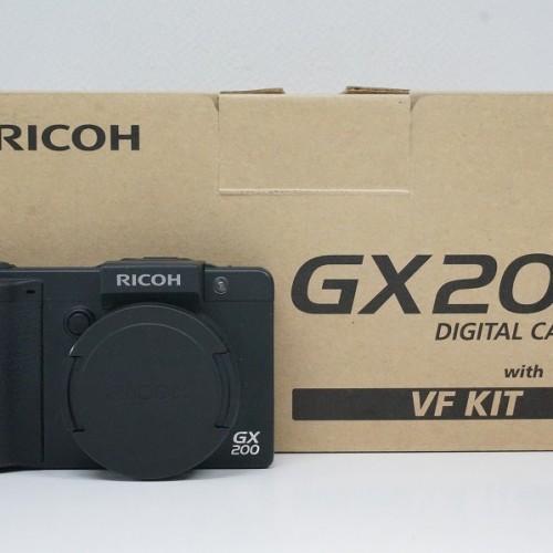 リコーのコンデジ「GX200 VF KIT」買取実績