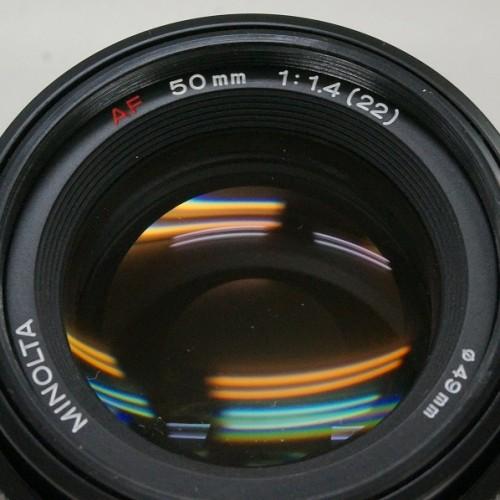 ミノルタのレンズ「AF 50mm F1.4」買取実績