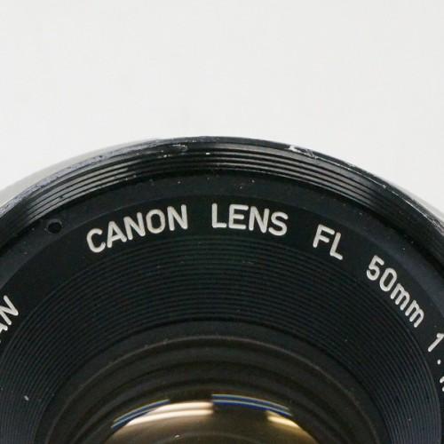 キャノンのレンズ「FL 50mm F1.8 」買取実績