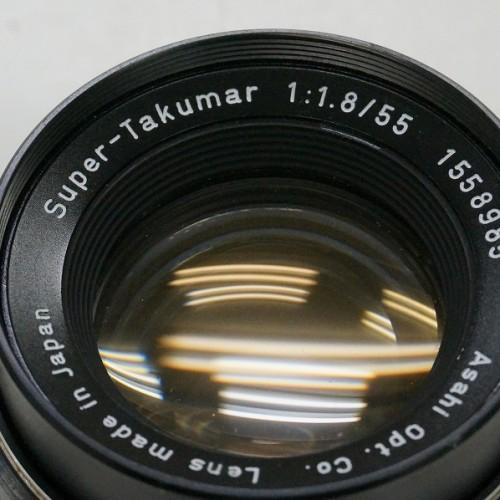 ペンタックスのレンズ「Super-Takumar 55mm F1.8 M42」買取実績