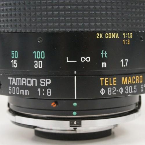 タムロンのレンズ「SP 500mm F8 TELE MACRO」買取実績