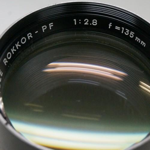 ミノルタのレンズ「MC TELE ROKKOR-PF 135mm F2.8」買取実績