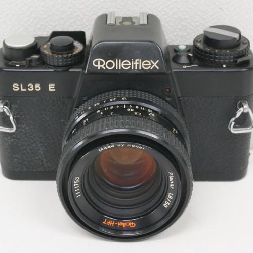 ローライのフィルム一眼レフカメラ「SL35 E Planar 50mm F1.8 HFT」買取実績