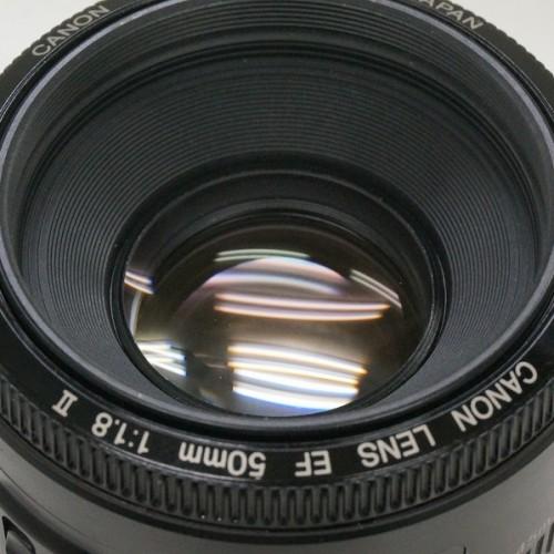 キャノンのレンズ「EF50mm F1.8 Ⅱ」買取実績