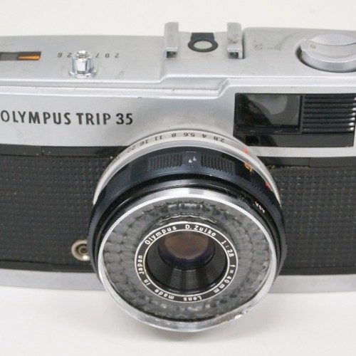 オリンパスのコンパクトカメラ「TRIP35」買取実績