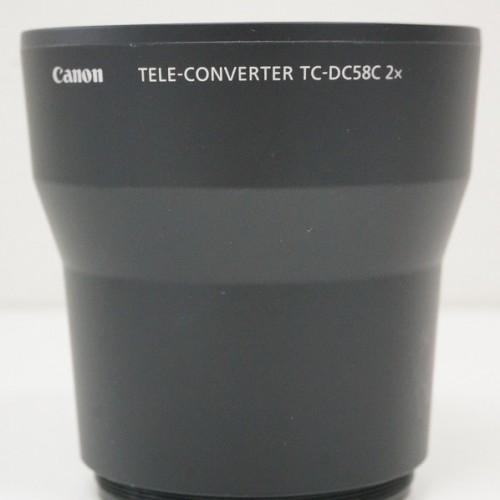 キャノンのレンズ「TELE-CONVERTER TC-DC58C 2×」買取実績