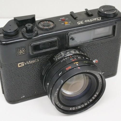ヤシカのフィルム一眼レフカメラ「ELECTRO 35 GT」買取実績