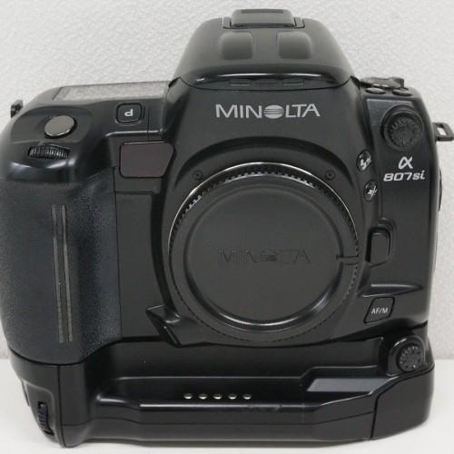 ミノルタのフィルム一眼レフカメラ「α807Si ボディ」買取実績
