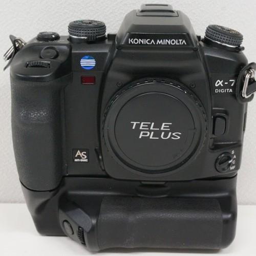 ミノルタのデジタル一眼レフカメラ「α-7 DIGITAL ボディ」買取実績