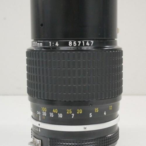 ニコンのレンズ「NIKKOR 200mm F4」買取実績