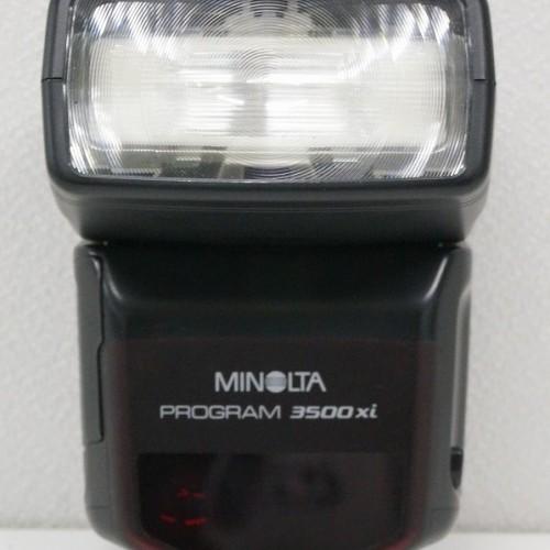 ミノルタのストロボ「PROGRAM 3500Xi」買取実績
