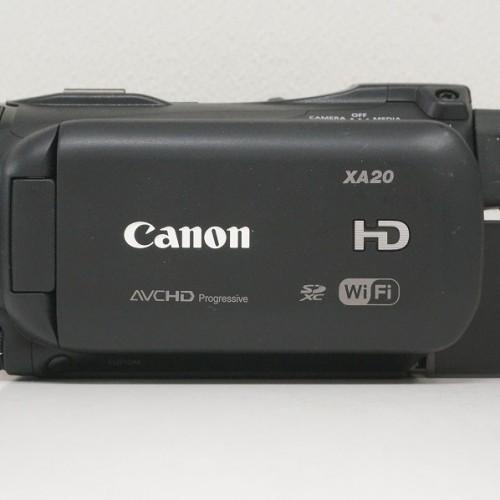 キャノンのビデオカメラ「XA20 HD」買取実績