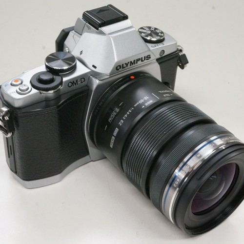 オリンパスのミラーレスカメラ「OM-D E-M5 12-50mm F3.5-6.3 EZ レンズキット」買取実績