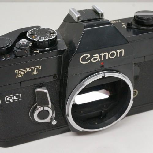 キャノンのフィルム一眼レフカメラ「FT QL ボディ」買取実績