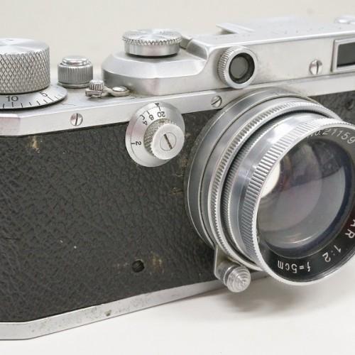 キャノンのレンジファインダー「Serenar 50mm F2 」買取実績