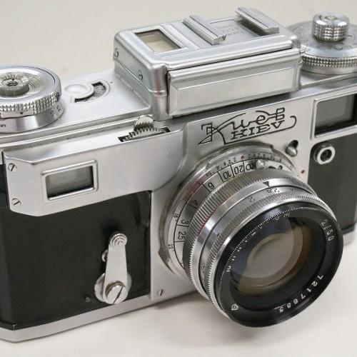 キエフのレンジファインダー「ロシアカメラ Jupiter-8M 50mm F2」買取実績