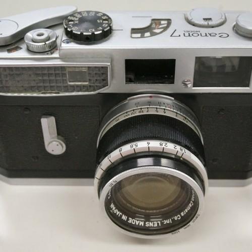 キャノンのレンジファインダー「7  50mm F1.8」買取実績
