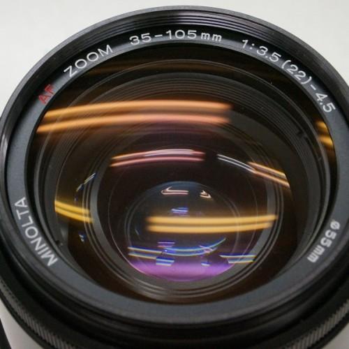 ミノルタのレンズ「AF ZOOM 35-105mm F3.5-4.5  」買取実績