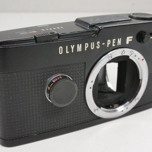 オリンパスのフィルム一眼レフカメラ「PEN-FT ボディ ブラック」買取実績