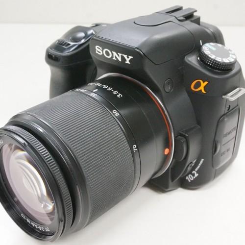 ソニーのデジタル一眼レフカメラ「α300 18-70mm F3.5-5.6 ズームレンズキット」買取実績