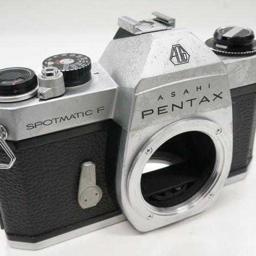 ペンタックスのフィルム一眼レフカメラ「SPOTMATIC F ボディ」買取実績