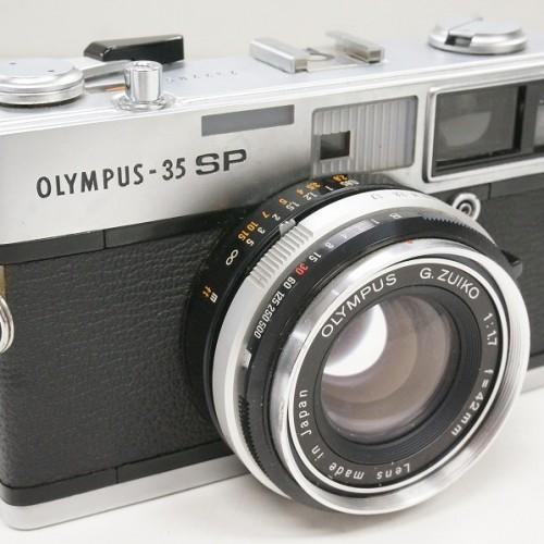 オリンパスのレンジファインダー「35 SP  G.ZUIKO 42mm F1.7」買取実績