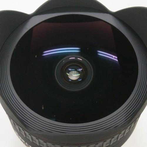 シグマのレンズ「15mm F2.8 EX DG FISHEYE ニコンFマウント用」買取実績