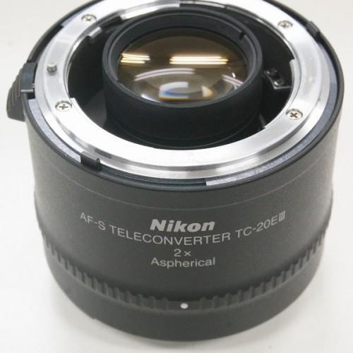 ニコンのレンズ「AF-S TELECONVERTER TC-20EⅢ 2×」買取実績