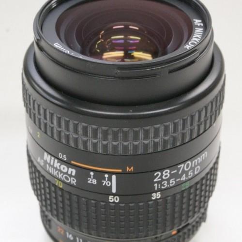 ニコンのレンズ「AF NIKKOR 28-70mm F3.5-4.5D」買取実績