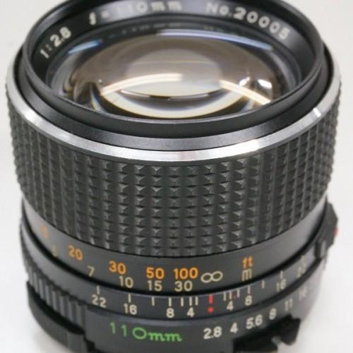 マミヤのレンズ「SEKOR C 80mm F2.8」買取実績